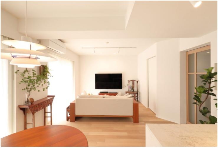 シンプルな家