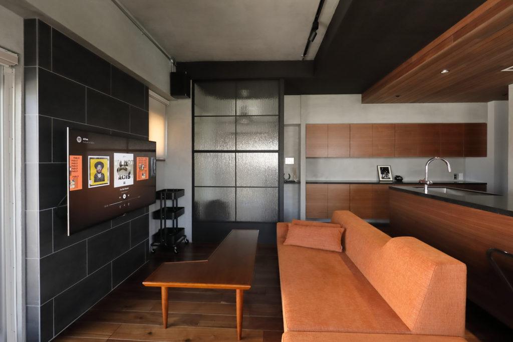 ホテルライクなマンションの内装