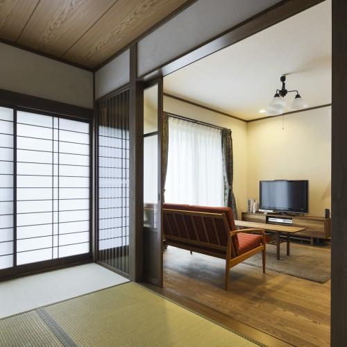 Case.13 - 大正モダン・和室でくつろぎ夫婦円満
