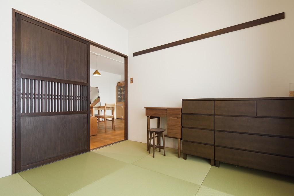 和モダンテイストの和室