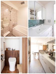 shuken setubi toto panasonic kitchen bathroom powderroom toilet