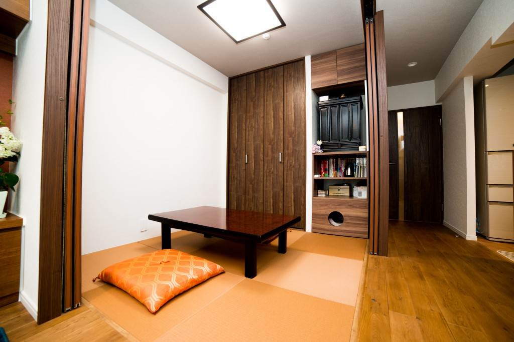 コンパクトな4.5畳の畳スペース