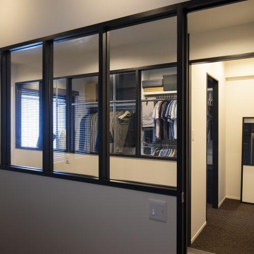 Case.55 - 空間を広げる!室内窓活用術