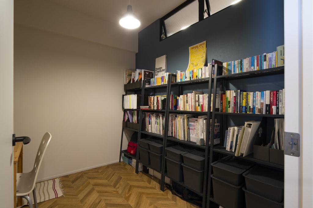 個室の勉強スペース