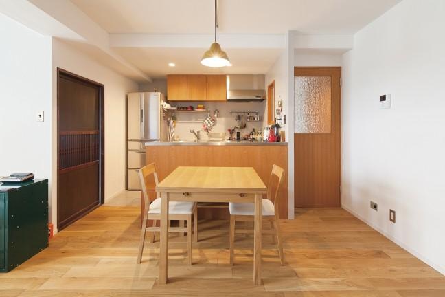 使い勝手の良いキッチン空間