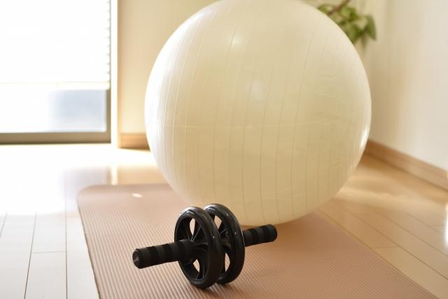 自宅トレーニングのアイテム