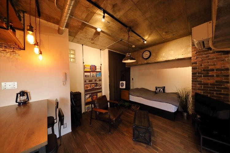 秘密基地のような寝室