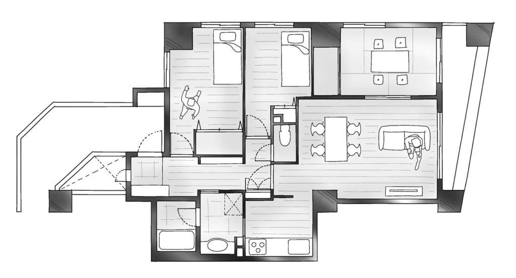 デザイン性と住み心地のBefore
