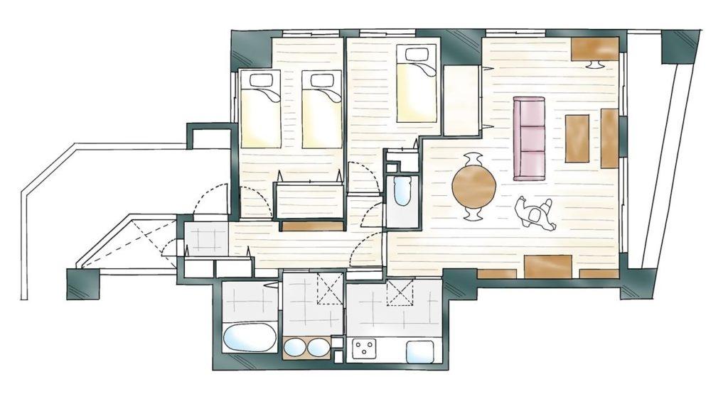 デザイン性と住み心地のAfter