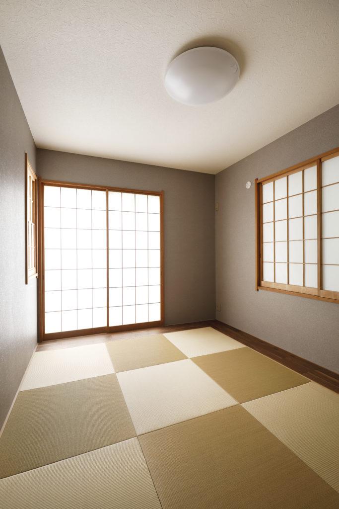 完全個室のおしゃれな和室