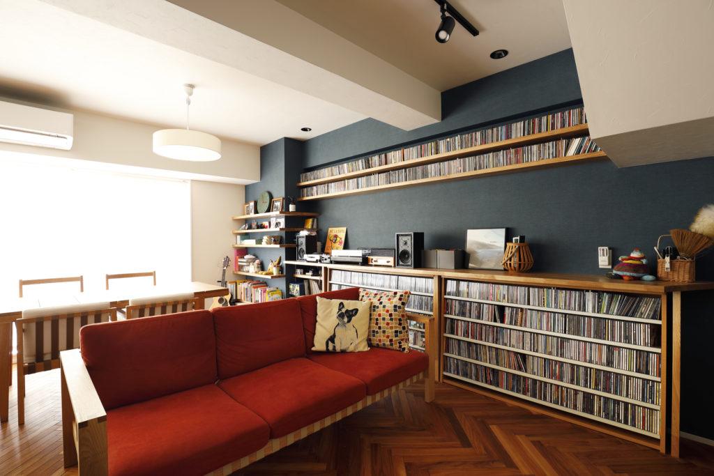 音楽好きにぴったりの大容量CD収納棚