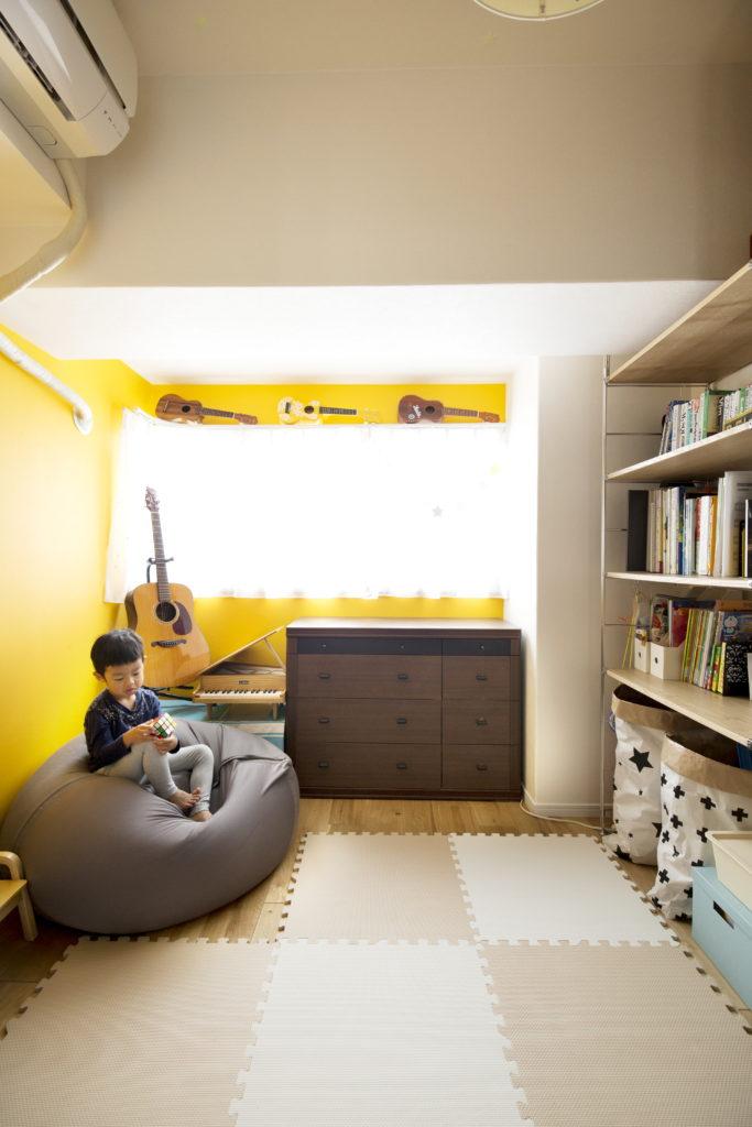 コンパクトな子供部屋
