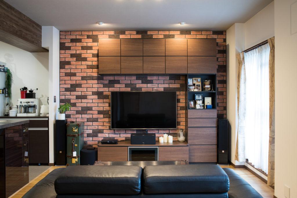 高級感のある壁面収納