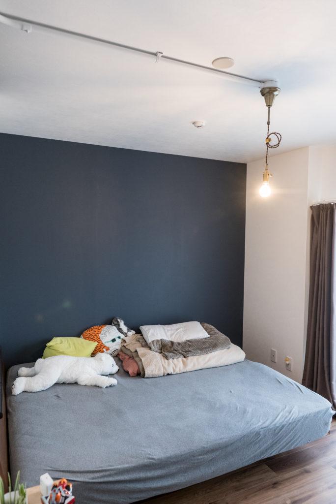 寝室のアクセントウォール