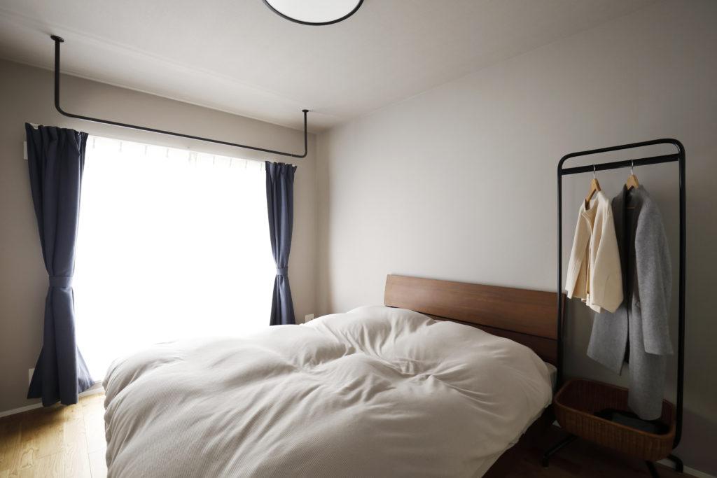 シンプル&おしゃれな寝室