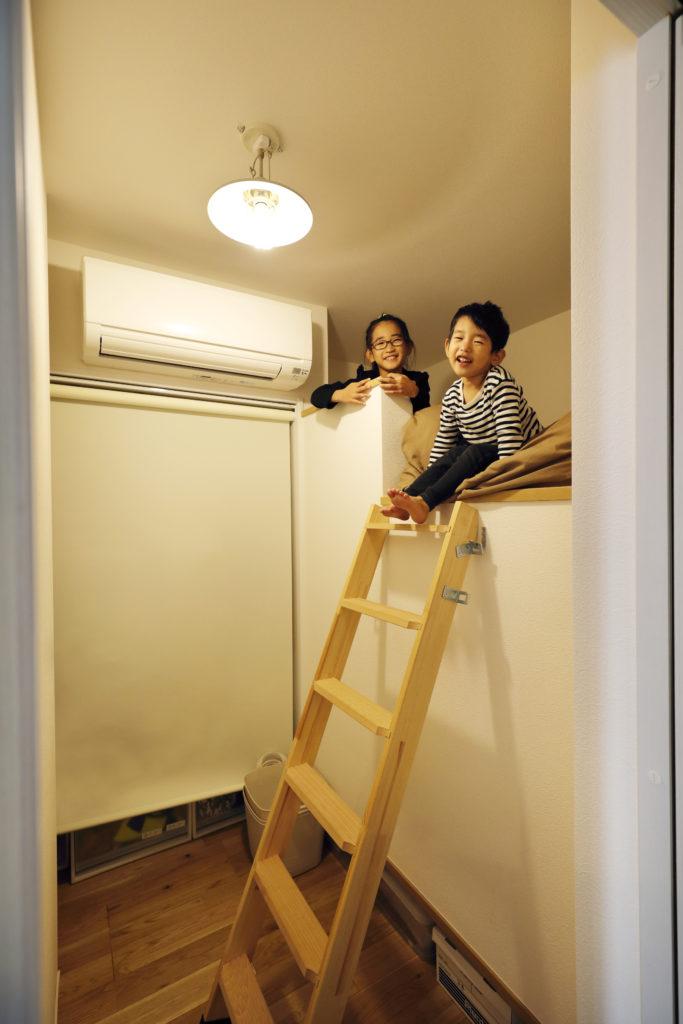 二段ベッド風の子供部屋