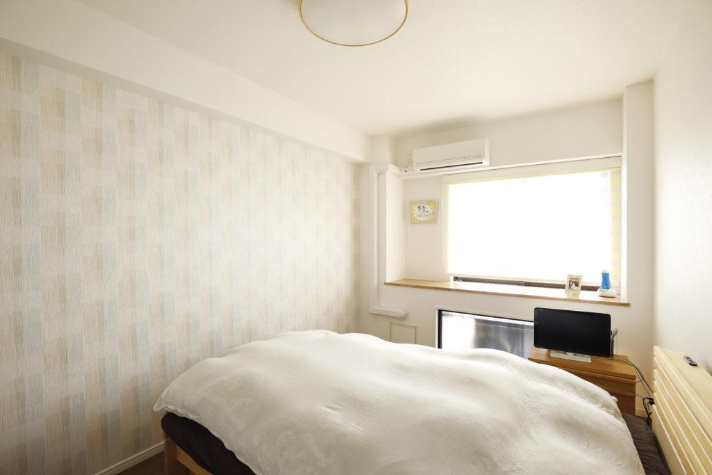 シンプルでおしゃれな寝室