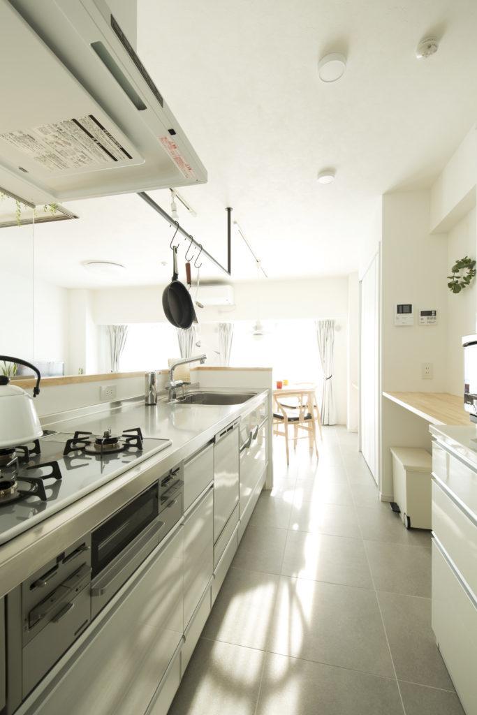 キッチンを整理整頓