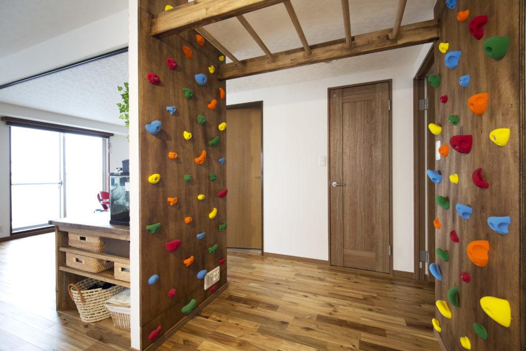 リノベーションで室内遊具も作れます