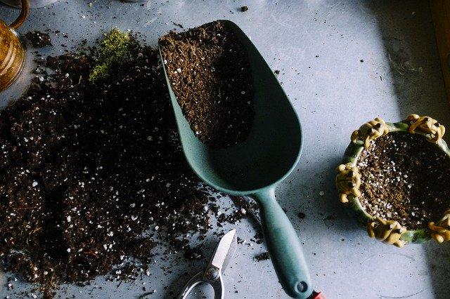 園芸用移植スコップ
